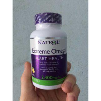 Extreme Omega, 2400 мг, 60 капс, Natrol