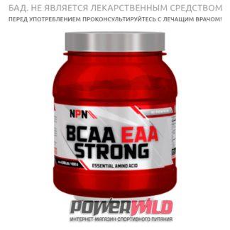 на фото Bcaa-eaa-strong упаковка