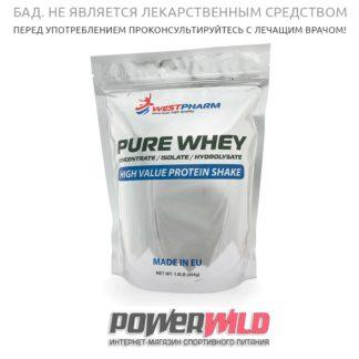 на фото instant Pure-Whey-Westpharm-упаковка-фото