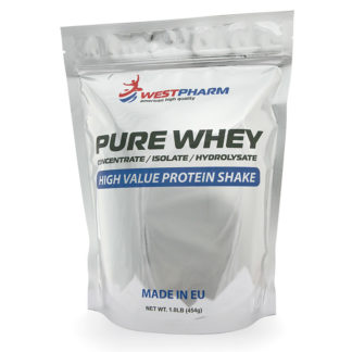 Pure Whey Concentrate WPC 80% / Протеин (454 гр) 15 порц