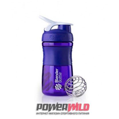 на фото синий SportMixer (591 мл) (Blender Bottle)