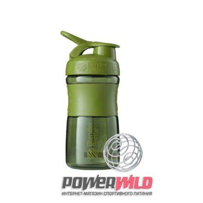 на фото зеленый SportMixer (591 мл) (Blender Bottle)