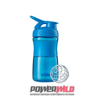 на фото голубой SportMixer (591 мл) (Blender Bottle)
