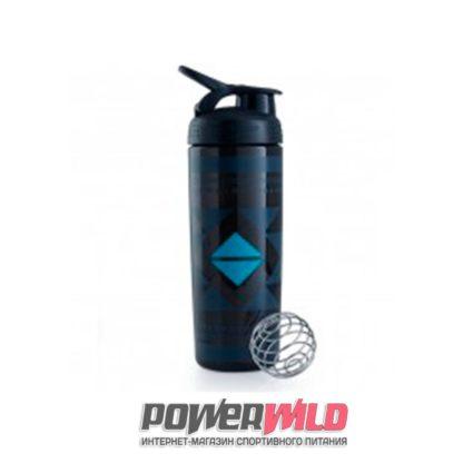 на фото черный SportMixer Sleek (828 мл) (Blender Bottle)