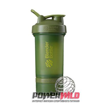 на фото зеленый ProStak Full Color (650 мл) (Blender Bottle)