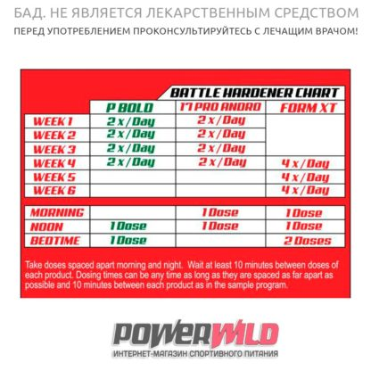 на фото Battle-Hardener-(17-Pro-Andro,-pBold,-Form-XT)-(LG-Sciences)-инструкция