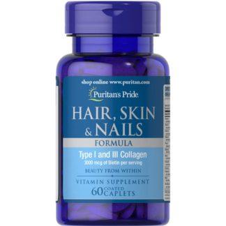 Puritan's Pride Hair Skin Nails One Per Day Formula продажа