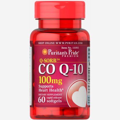 Co Q-10 - Puritan's Pride 60 капсул по 100 мг купить