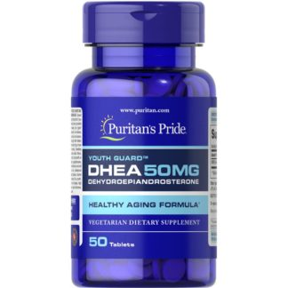 DHEA Puritan's Pride 50 таблеток 50 мг бустер тестостерона купить