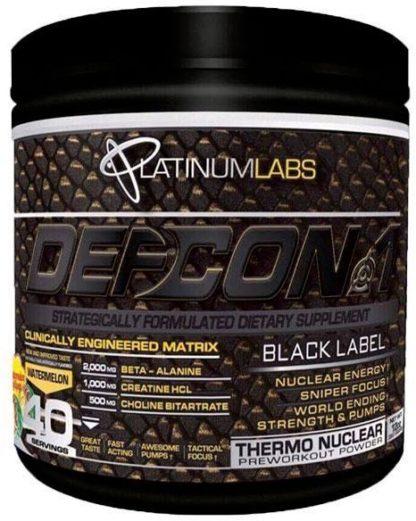 Defcon 1 Black Label - Platinum Labs, 328 гр, 40 порций купить