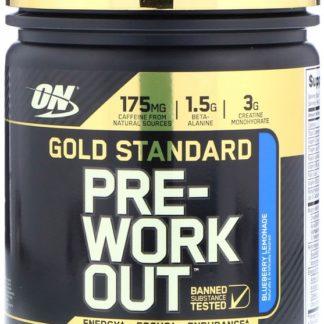 Gold Standard Pre-Workout - Optimum Nutrition 300 граммов 30 порций купить с доставкой