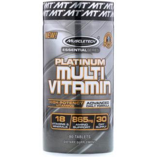 Состав Platinum Multivitamin от MuscleTech