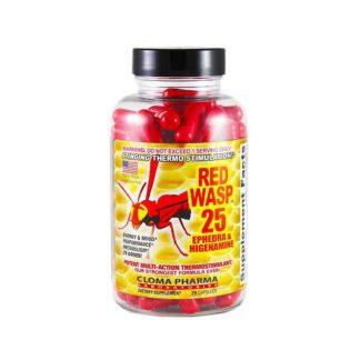 Red Wasp 25 Cloma Pharma 75 капсул жиросжигатель ЭКА купить