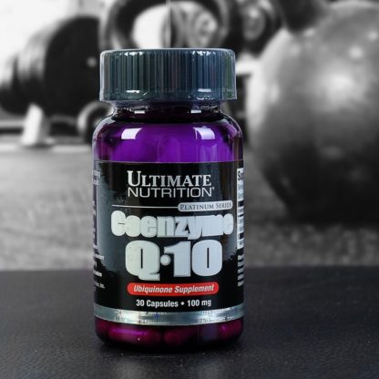 Coenzyme Q-10 - Ultimate Nutrition 30 капсул по 100мг купить