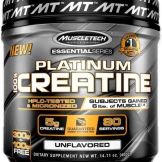 Platinum 100% Creatine MuscleTech 400 граммов 80 порций – продажа и доставка