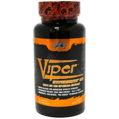 Viper Hyperdrive 5.0+ ALR Industries 60 таблеток жиросжигатель ЭКА купить