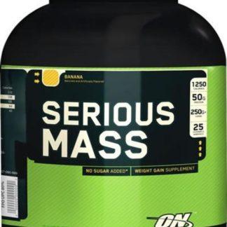 Serious Mass Optimum Nutrition 2720 граммов гейнер купить