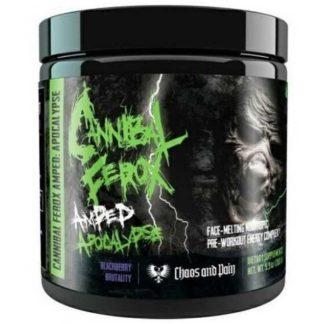 Cannibal Ferox Amped Apocalypse - Chaos and Pain, 375 граммов, 25 порций предтреник купить