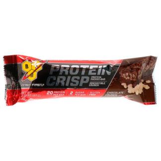 Protein Crisp BSN 57 граммов протеиновый батончик купить
