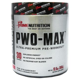 PWO-MAX Prime Nutrition 360 граммов 30 порций предтреник с DMAA купить