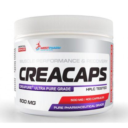 Creacaps WestPharm 400 капсул по 500 мг – креатин купить