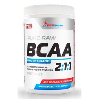 BCAA 2:1:1 WestPharm 400 гр, 80 порций – аминокислотный комплекс купить