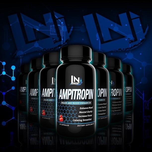 Купить AMPitropin Lecheek Nutrition 60 капсул - предтреник с DMAA
