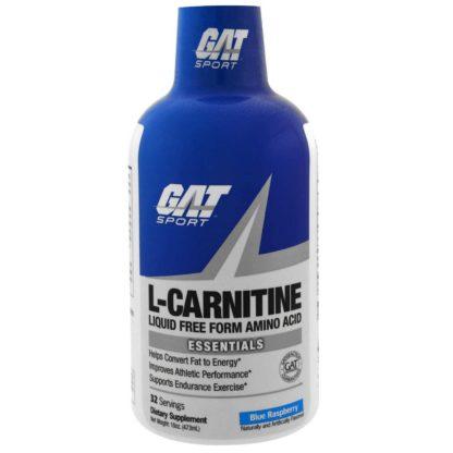 L-Carnitine GAT 473 мл 32 порции жиросжигатель купить