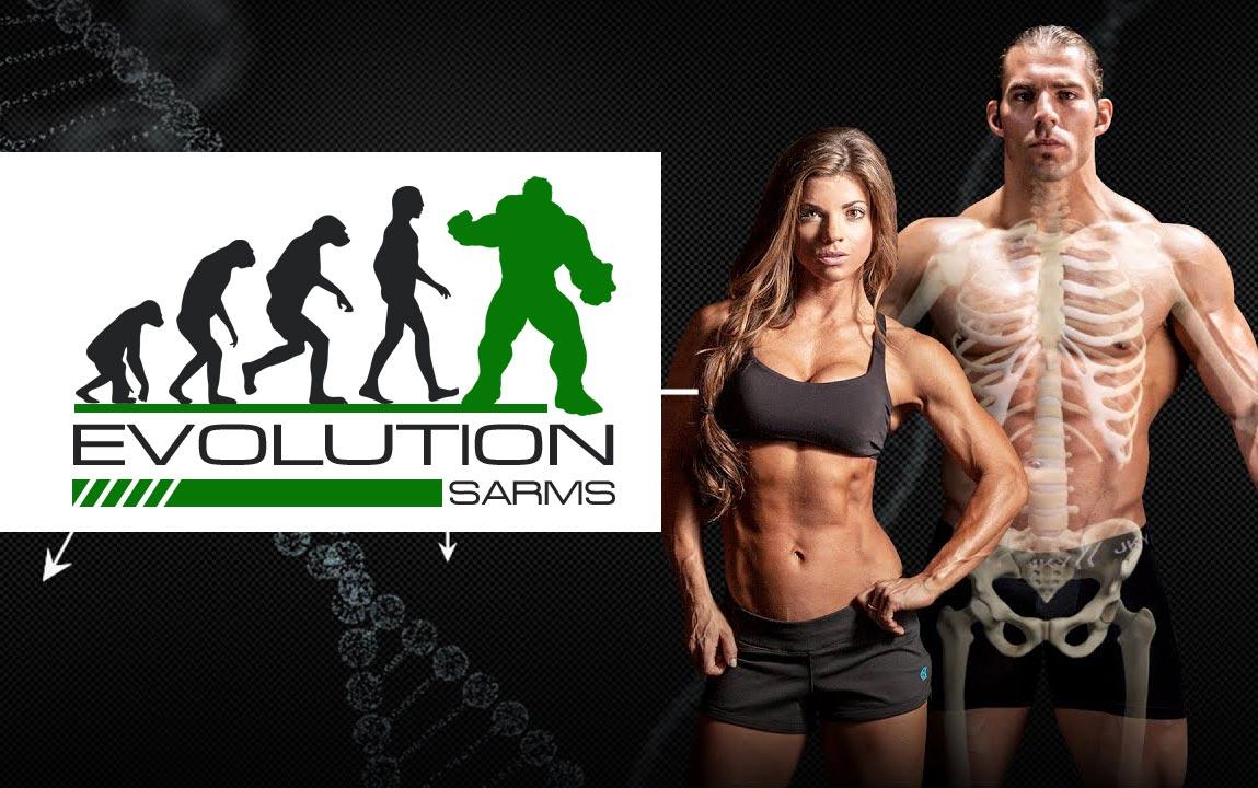На фото мужчина и женщина - реклама SARMs.