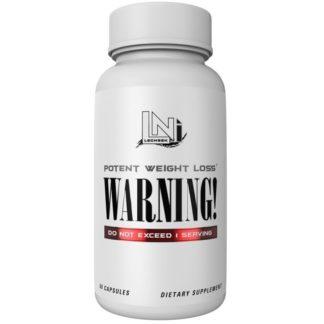 Warning Lecheek Nutrition 60 капсул предтреник с DMAA купить
