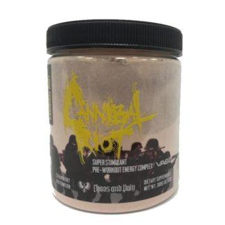 Cannibal Riot VASO Chaos and Pain 300 гр., 30 порций – купить предтреник