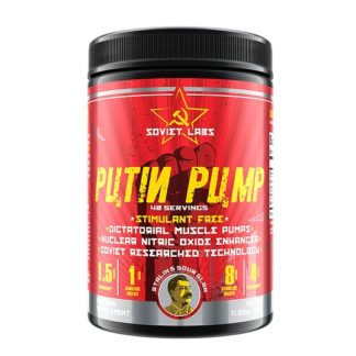Putin Pump Soviet Labs, 320 гр, 40 порций – предтреник купить