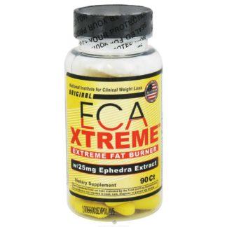 Упаковка ECA Xtreme DMAA Hi-Tech Pharmaceuticals 90 таблеток жиросжигатель с DMAA купить