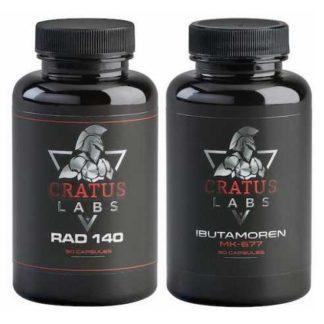 Курс на сухую мышечную массу Radium + Ibutamoren (Cratus Labs)