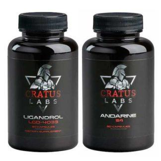 Смотреть оригинальную упаковку Ligandrol + Andarine Cratus Labs