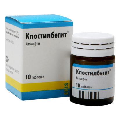 Клостилбегит 10табл/50мг Венгрия блокатор эстрогена купить дешево