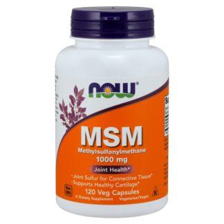 MSM Now Foods 120 капсул по 1000 мг от воспалений в суставах цена