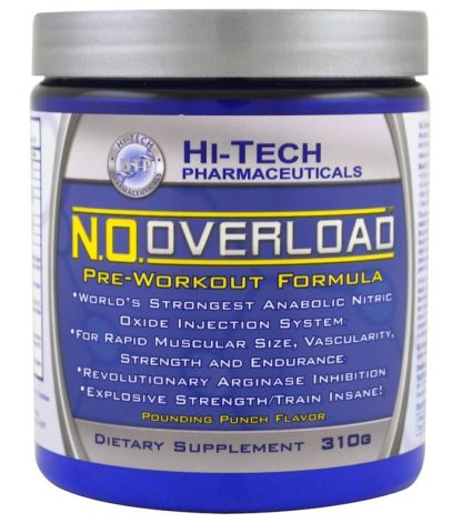 Купить N.O. Overload Hi-Tech Pharmaceuticals вкус «Пунш» недорого