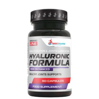 Продажа онлайн Hyaluronic Formula Westpharm 60 капс по 500мг
