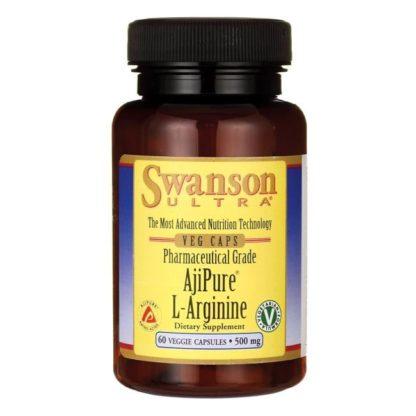 Купить AjiPure L-Arginine Swanson 60 капсул дешево