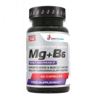 Купить дешево Mg+B6 WestPharm 60 капсул