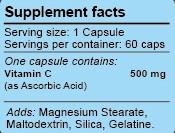 Читать состав Vitamin C WestPharm