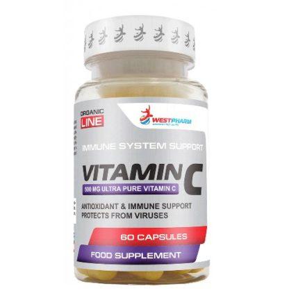 Купить недорого Vitamin C WestPharm 60 капсул