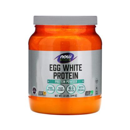 Egg White Protein Now Foods Sports купить недорого спортпит в Москве