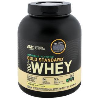 Optimum Nutrition 100% Whey Gold Standard Natural (2180 гр.) купить недорого.