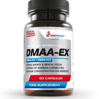 Купить недорого предтреник DMAA-EX WestPharm 60 капсул