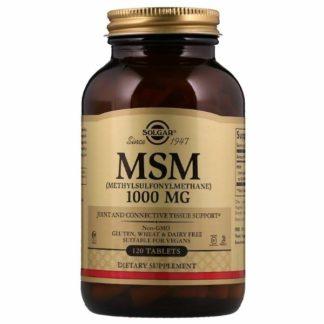 Купить недорого MSM (120 табл) (1000 мг) (Solgar)
