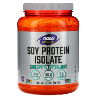 Купить дешево Now Foods Sports Soy Protein Isolate (907 гр.)