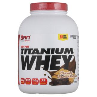 Купить недорого SAN 100% Pure Titanium Whey 2270 гр.