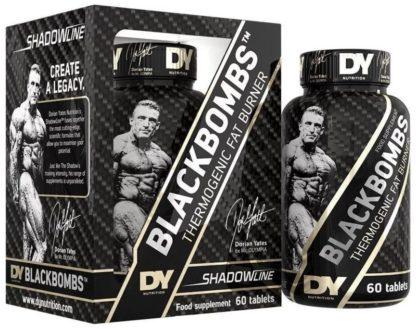 Купить дешево Black Bombs фирмы Dorian Yates 60 таб жиросжигатель